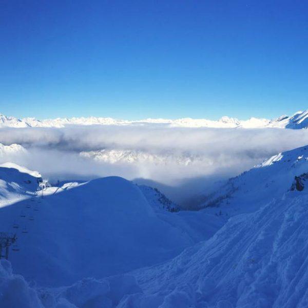 Montgenèvre en hiver © Le Soureou