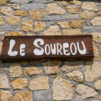 Le Souréou - Panneau entrée - Location Chalet 2 étoiles Gîtes de France - Montgenèvre © lesoureou.fr