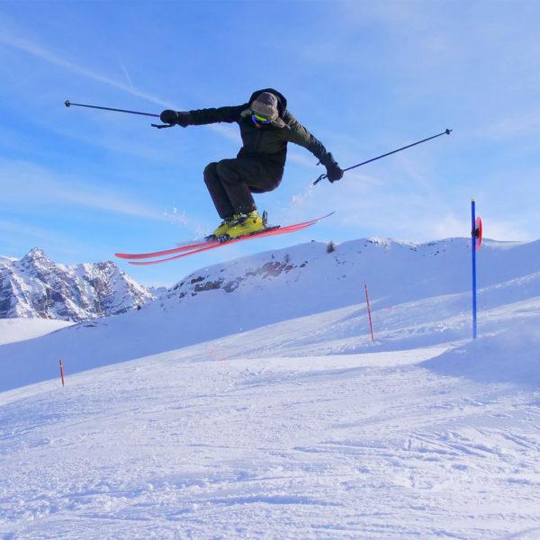 SnowPark - Montgenèvre en hiver