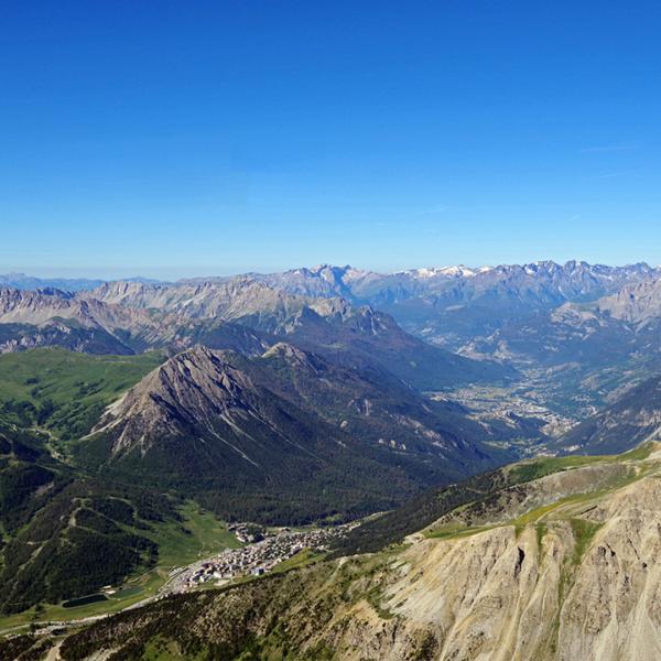 Vue depuis le sommet du Chalvet © Le Souréou